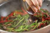 青椒肉絲(チンジャオロース)の作り方5
