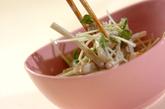 ゆでゴボウのマヨサラダの作り方2