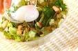 温泉卵のせサラダの作り方5