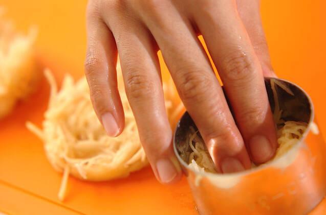 肉ジャガガレットの作り方の手順1