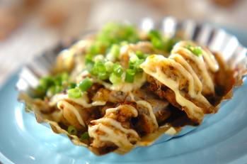 里芋の和風チーズ焼き