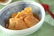 マグロと豆腐のショウガ煮