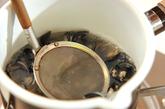 シジミの豆乳汁の作り方1