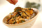 ウナ玉麦丼の作り方3