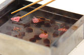 桜寒天の作り方3