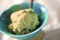 甘納豆入りアイス