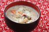塩鮭の粕汁の作り方の手順