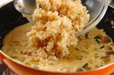 玄米リゾットの作り方5