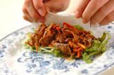焼き肉生春巻きの作り方10