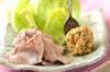 玄米みそのレタス包みの作り方の手順4