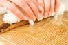 穴子の棒寿司の作り方の手順3