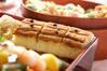 穴子の棒寿司の作り方の手順