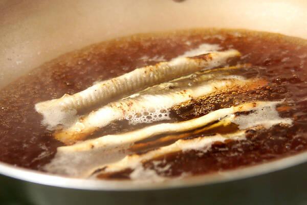 穴子の棒寿司の作り方の手順1
