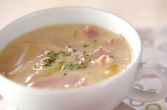 豆乳みそスープ