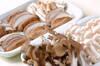キノコのアンチョビ炒めの作り方の手順1