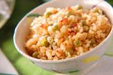 豆タコ玄米ご飯