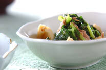 畑菜の煮物