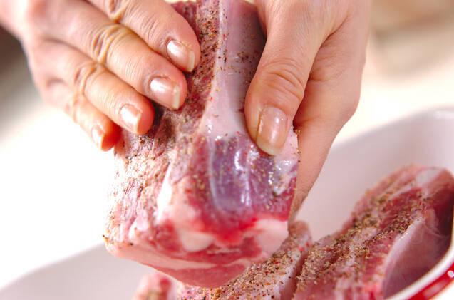 白菜とスペアリブの煮込みの作り方の手順5