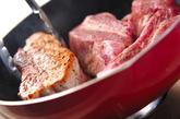 白菜とスペアリブの煮込みの作り方1