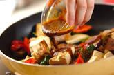 豆腐と豚肉のカレー炒めの作り方3