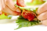 クラゲの梅肉ピンチョスの作り方1