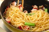 タコのスパゲティーの作り方3