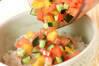 サバイタリアン丼の作り方の手順4