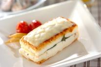 洋風チーズサンド豆腐ステーキ