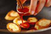 サツマイモの焼き肉タレ焼きの作り方4