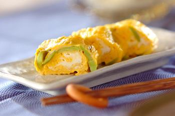 ソラ豆入り卵焼き