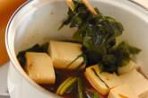 イワシのショウガ煮豆腐添えの作り方7
