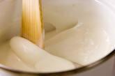 抹茶ミルク葛の作り方2