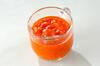 トマトソースの作り方の手順