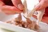 ウドとささ身のサラダの作り方の手順2
