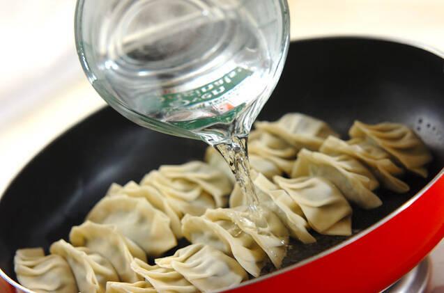 焼き餃子の作り方の手順6