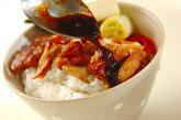 照り焼きチキン丼の作り方5