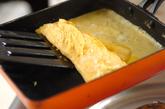 だし巻き卵の作り方2