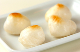 京風チーズ鍋の作り方1
