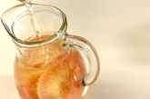 桃入り白ワインの作り方1