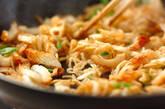 切干し大根のおかか炒めの作り方2
