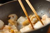 豆腐の海鮮サラダの下準備3