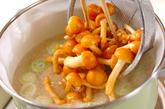 ナメコおろし汁の作り方2