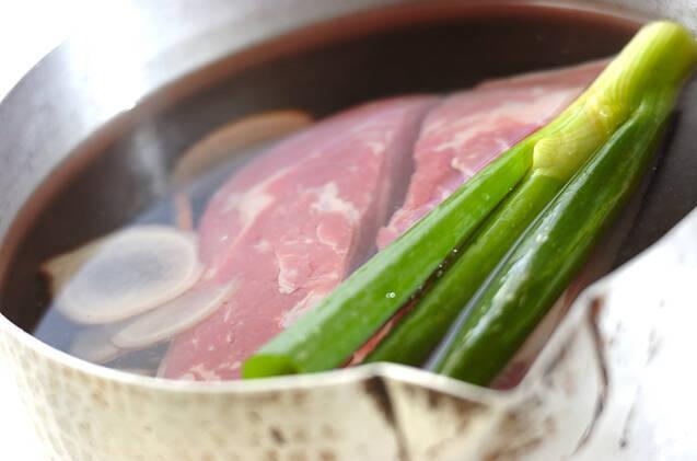 ゆで豚の作り方の手順2