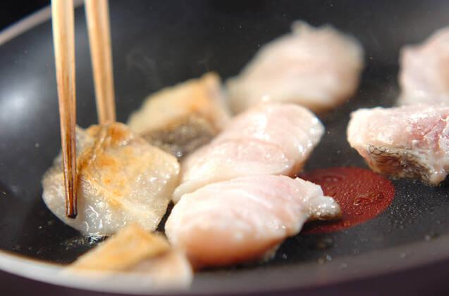 タラのコク辛焼きの作り方の手順4