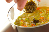 春キャベツを使ったピストスープの作り方2