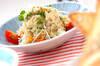 ホタテ缶のポテトサラダの作り方の手順