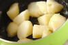 ホタテ缶のポテトサラダの作り方の手順1