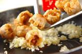 揚げシューマイのチリソース炒めの作り方4