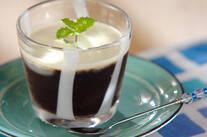 グラスコーヒーゼリー