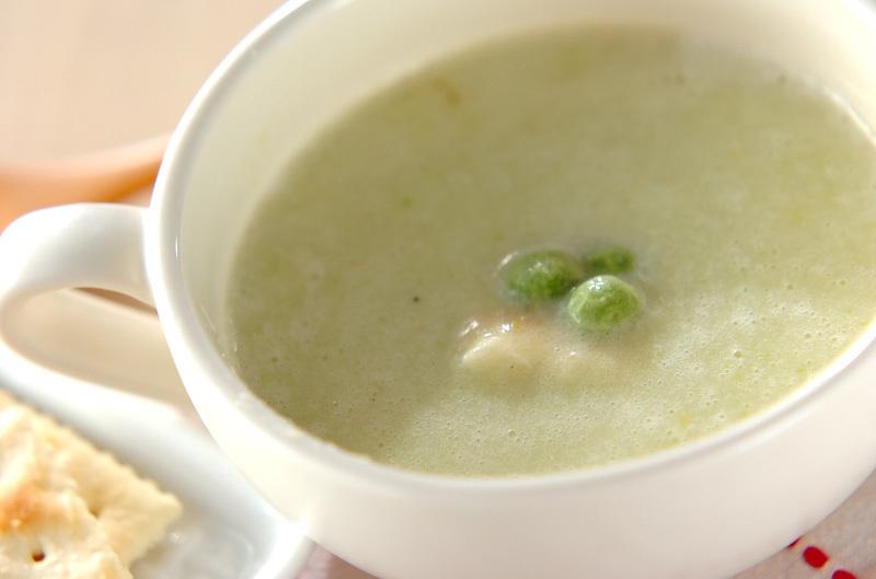 5.【エンドウ豆】のスープ